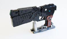 Psycho-Pass: DOMINATOR - Paralyzer Mode | by quý Sci Fi Anime, Lego Guns, Lego Mecha, Mode Top, Psycho Pass, Cool Lego Creations, Lego Design, Funny Captions, Lego Models
