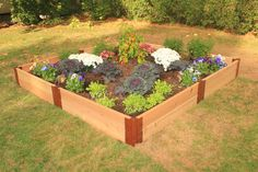 Frame It All - Two Inch Series - Modular Cedar Raised Garden Bed Kits
