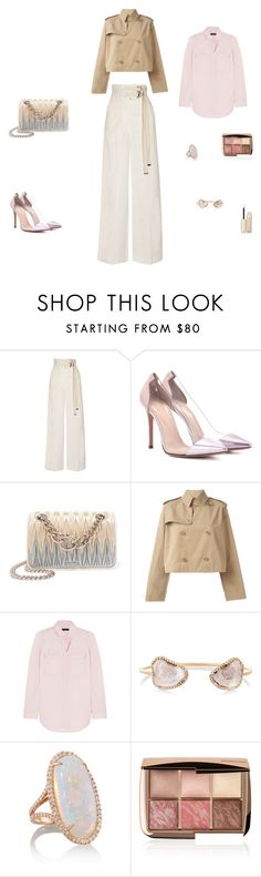 """""""3 on"""" by leafmarie ❤ liked on Polyvore featuring Marni, Gianvito Rossi, Miu Miu, Ralph Lauren, J.Crew, Kimberly McDonald, Hourglass Cosmetics and By Terry"""