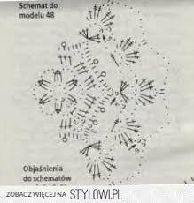 Znalezione obrazy dla zapytania szydełkowanie krok po kroku serwetki