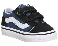44928e5d432 Vans Old Skool Toddlers Navy True White - Unisex