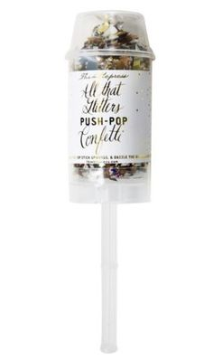 The coolest confetti for your NYE soiree.