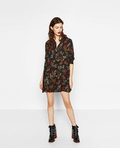 FLORAL PRINT DRESS-THE NEW FLORALS-WOMAN | ZARA United States