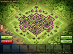 TH8 Farming Base - AirDrop - Flawless DE Protection - http://cocland.com/base-layouts/th8-farming-base-airdrop