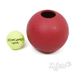 Ball In Ball - Dog Puzzle for Ball-Loving Dogs - Found on ActiveDogToys.com