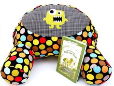 Quiet Time Reading Pillow Sewing Pattern  A by ElizabethWyatt