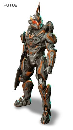 HALO 4 Armor (alright this one is just plain 100% Dork, WTF is with the unicorn horn??)