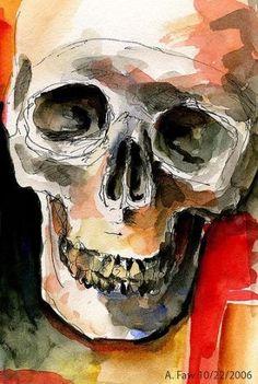 New Drawing Skull Mixed Media Ideas Secondary School Art, Natural Forms Gcse, A Level Art Sketchbook, Sketchbook Ideas, Skull Sketch, Nature Sketch, Skeleton Art, Skull Painting, Gcse Art
