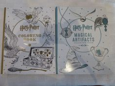 Set Of 2 Harry Potter Coloring Books NEW