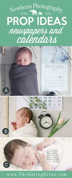 Adorable-Newborn-Photography-Prop-Ideas-using-Newspapers.jpg (550×1358)