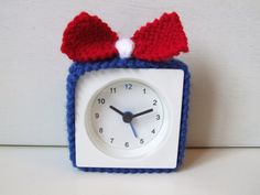 alarm clock cover by BabanCat on Etsy, £5.00