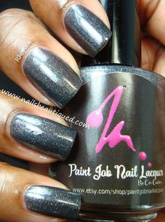 Paint Job Nail Lacquer, Camber | Nails Beautiqued