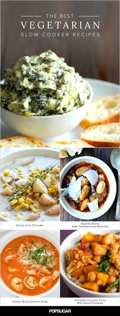 14 Satisfying Vegetarian Meals You Can Make in Your Crockpot