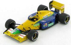 Benetton-Ford-B191B-Michael-Schumacher-1992-1-43 Michael Schumacher, Benetton, F1, Diecast, Ebay, Formula 1