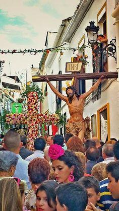 FOTOS DE COÍN.: Coín, cruces de Mayo 2014. 40 fotos