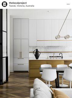 Home Interior, Interior Architecture, Interior Design, Parquetry Floor, Steel Frame Doors, Stone Flooring, Luxury Kitchens, Soft Furnishings, Decoration