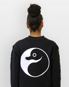 ∆ Yin Yang Platypus Jumper ∆ Now in store online!  www.platypus.clothing #streetwear #streetstyle #independent #fashion #PlatypusUK