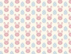 Easter scrapbook paper (4 patterns) to download for free - miniature dollhouse Easter wrapping paper/tablecloth etc.