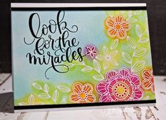 Hi friends! Popping in for another quick share today! Nichol Magouirk made this gorgeous card using our June 2016 Card kit! Be sure to watch the video!!   Supplies: