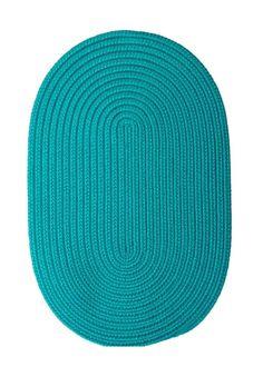 Boca Raton - Turquoise 3'x5' - Oval Rug