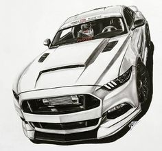 Ideas for concept cars drawing Cool Sports Cars, Super Sport Cars, Super Cars, Car Design Sketch, Car Sketch, Mustang Drawing, Sports Cars Lamborghini, Street Racing Cars, Mercedes Benz Cars