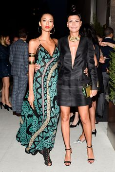 Anais Mali & Giovanna Battaglia - Opening of the Edition Hotel in NYC, May 12 2015