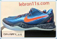 Lebron11s.com Wholesale Cheap Kobe Bryant 8 System Blitz Blue Total Crimson Squadron Blue Ice Blue 555035 401 Discount To $62.56