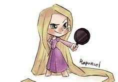 Rapunzel by Haya-Huang