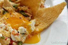 Kαγιανάς με μέλμπα τοστ, η γκουρμέ πινελιά της στραπατσάδας ⋆ Cook Eat Up! Breakfast, Food, Morning Coffee, Essen, Meals, Yemek, Eten