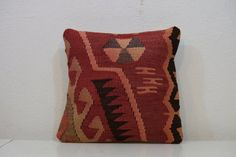 14x14 inches-Turkish kilim pillowHandwoven by kilimci on Etsy