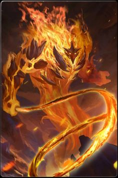 THE EIGHT: Ignus - Lord of Flame. Ignus is one of the most powerful fire demons in existence: he even rivals Surtr, Lord of the Fire Jotuns. His whip can carve through celestial metals and blessed weapons like they're nothing.