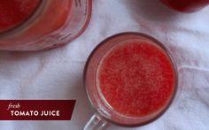 Fresh & simple tomato juice