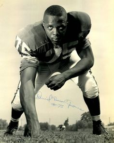 """Deacon Jones (LA Rams) is credited with  coining the phrase """"sacks,"""" as in QB sacks."""