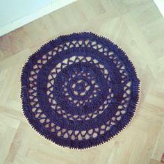 Min virkade matta...#knitted