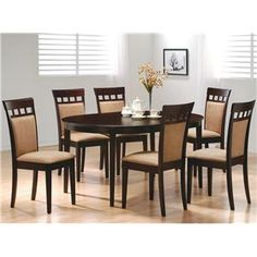 7 Piece Dining Set Kittanning, Butler, Pittsburgh, Lower Burrell, Indiana, and Grove City, Pennsylvania Furniture Store - Speedy Furniture