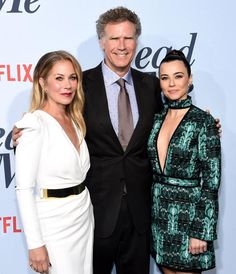 """Christina Applegate, Will Ferrell and Linda Cardellini attend the """"Dead To Me"""" Season 1 TV Show Premiere in Los Angeles on May She Movie, Movie Tv, Vince Vaughn, Christina Applegate, Will Ferrell, Dead To Me, Wonderwall, Ex Husbands, Netflix Series"""