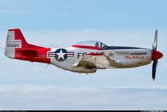 North American P-51D Mustang - nice profile of not only one of the most beautiful planes ever designed, but one of the greatest fighter planes of its time.