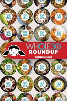 90 Days of Recipes is part of Whole 30 diet - The best recipes by Nom Nom Paleo! You will successfully complete a with these recipes,tips, tricks, and encouragement! Whole 30 Meal Plan, Whole 30 Diet, Paleo Whole 30, Whole 30 Meals, Whole Foods, Whole 30 Lunch, Nom Nom Paleo, Clean Eating Recipes, Clean Eating Snacks
