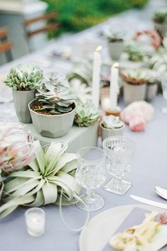 Pastel Wedding Decor Done RIGHT #refinery29  http://www.refinery29.com/100-layer-cake/75#slide10