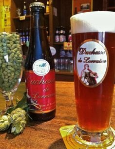 Brasserie de Lorraine/Aramis hop - founded in 2002, and is located in the 18th century riding stable at Pont-a-Mousson in the Lorraine région of France  ..........hops-comptoir.com