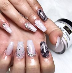212 Best Bridal Wedding Nail Art Images On Pinterest In 2018