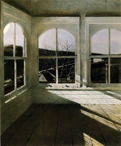 """Andrew Wyeth - Renfield """