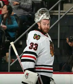 Scott Darling  #chicago #blackhawks Here comes Darling! The beast between the pipes!