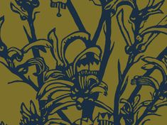 Kangaroo Paw (Military & Khaki) | Jude Taylor | Art, Design & Fabric | Swan Valley, Perth, WESTERN AUSTRALIA