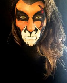 10 Best Face Paint Lion King Images Play Costumes