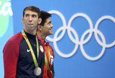 Ouro escapa, Phelps leva a prata em empate triplo e chega à 27ª medalha…