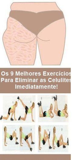 Os 5 Exercícios Para Combater de Vez Com a Flacidez! #receitascaseiras #receitasnaturais #dicasdebeleza #celulitis
