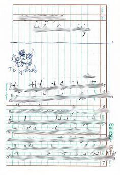 "Apunte: Reproducció 002   Apunte  ""Reproducció 002""  Reproducción 002  Bolígrafo sobre papel  153 x 105 cm  2004  Bilbao  apunte: reproducción libro 2004-01 / 2004-06"