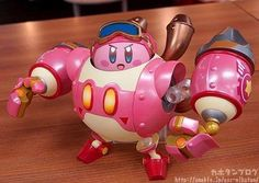 Kahotan takes a look at the new Nendoroid More: Robobot Armor & Kirby! Also available in a version without Kirby - find out more on the blog below! Preorders are opening tomorrow! http://mikatan.goodsmile.info/en/2017/11/01/nendoroid-more-robobot-armor-kirby-kirby-planet-robobot/