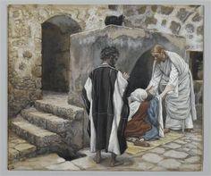 The Healing of Peter's Mother-in-law (La guérison de la belle-mère de Pierre - James Tissot
